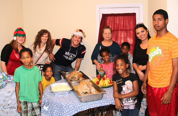 Walts Giving Back to a local family in need