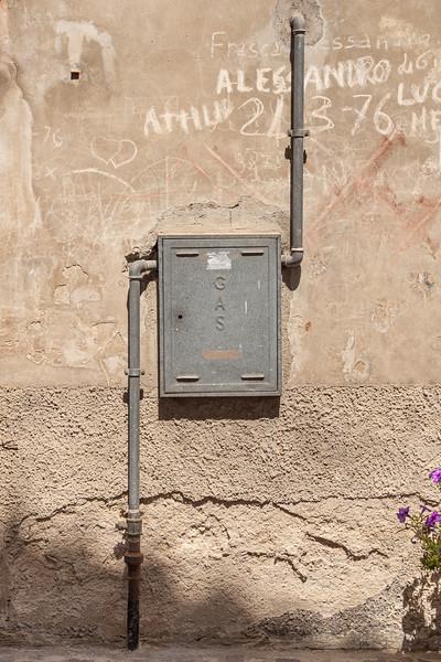 Urban Still Life - Penne, Pescara, Italy - August 12, 2019