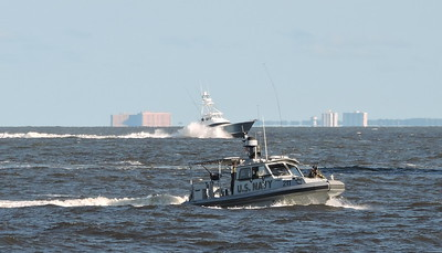 US Navy Harbor Security Boats and Police Boats