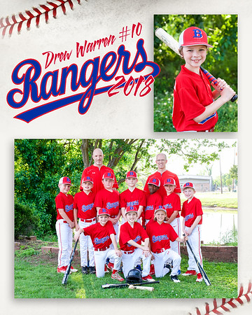 Baseball - Rangers 2018