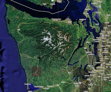 Olympic Peninsula Trip Overview, Aug 2005