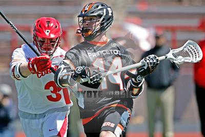 4/25/2015 - NCAA D1 - Princeton University vs. Cornell University -  Schoellkopf Field at Cornell University, Ithaca, NY