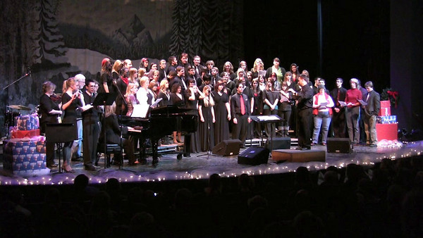 VIDEO WINTER CONCERT All Choirs O Holy Night