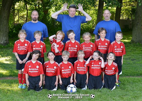 Division 7 - Team pictures