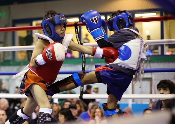 Ty Benjaminson (red) vs. Milvin Ledesma (blue)