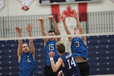 VIU Volleyball vs CBC (November 15, 2019)