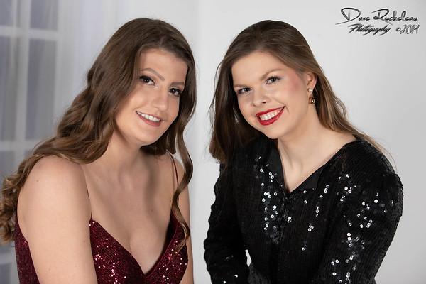 Kaitlyn and Arielle Dec 2019