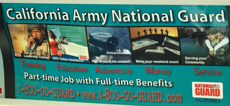 California Army National Guard Advertisement
