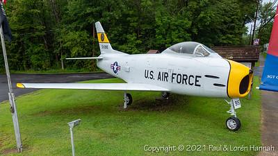 American Legion Post 915 - Central Square, NY - F-86H