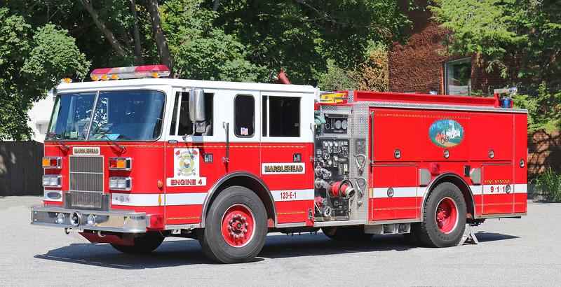 Engine 4.  1996 Pierce Saber.  1250 / 750