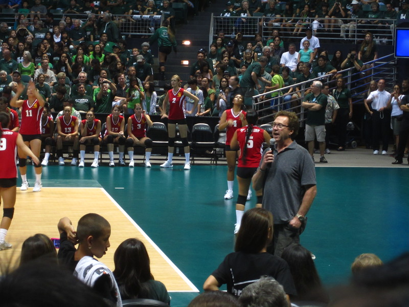 Hawaii - Wahine Volleyball Game-8.JPG