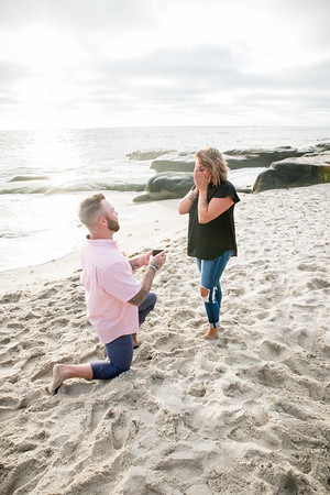 La Jolla San Diego Beach Engagement and Family Photographer 92037