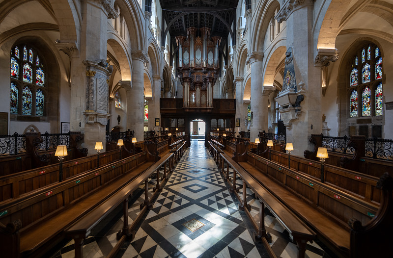 Cathedral at Christ Church, Oxford University