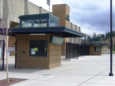 Civic Stadium Ticket Booth Canopies