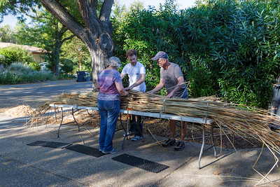 2019-08-17 Tule boat construction day