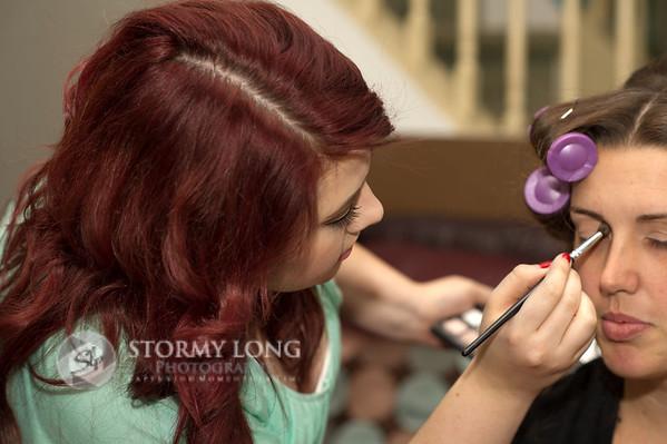 Kasey Make-Up Behind The Scenes