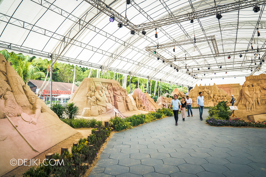 Sentosa Sandsation 2017 - Overview