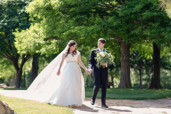 Coles Garden | Oklahoma City, OK | Kristin & Thes Wedding