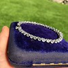 9.50ctw Round Brilliant Diamond Tennis Bracelet 49