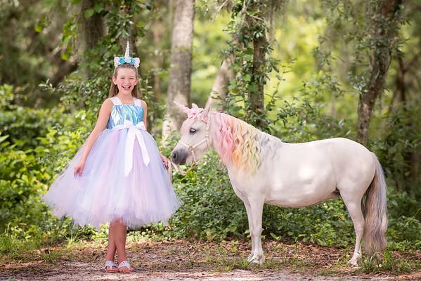 Unicorn photo session - Dowell July 2018
