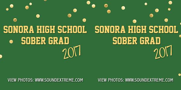 Sonora High Sober Grad 2017