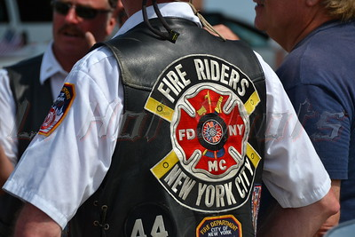 07/21/2013 NYC Fireriders at Long Beach Wounded Warriors Parade-Escort