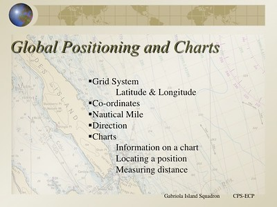 Global Positioning and Charts