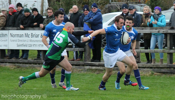 1st XV v Ballynahinch (A) 01.11.2014 by Kevin Hegarty