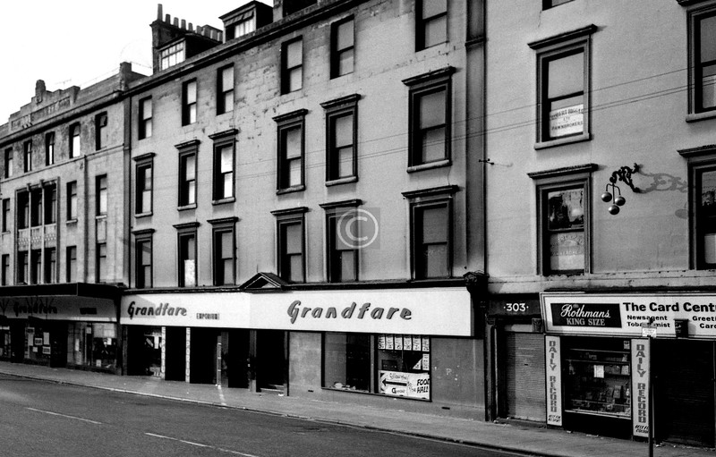 Argyle St, south side east of Robertson St. A little different now - Radisson SAS.  