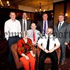 Newry CRJ held a conference recently in the Canal Court Hotel pictured are, Mary Martin (Retired Judge), Gary Shewan (Assistant Chief Constable Greater Manchester Police), Euan Morgan (CRJ), Harry Maguire (Director CRJI), Superintendent Tim Mairs (PSNI), Mark McAllister (Chair CRJI) and Conor Patterson (CEO N&M Enterprise Agency). R1518015