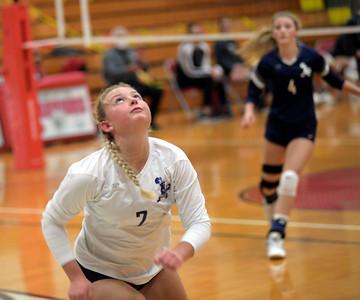 St. John at Edgewood volleyball 10-05-20