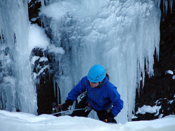 Ice Climbing @ Parlee Brook