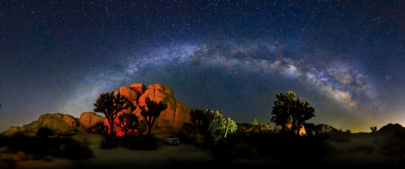 zzaaaa Pano 4, 106,108,114, 129-134, 136 NINE6 FINAL, SMALL, 10x24 format, Joshua Tree, Milky Way 6D (1 of 1)-2.jpg