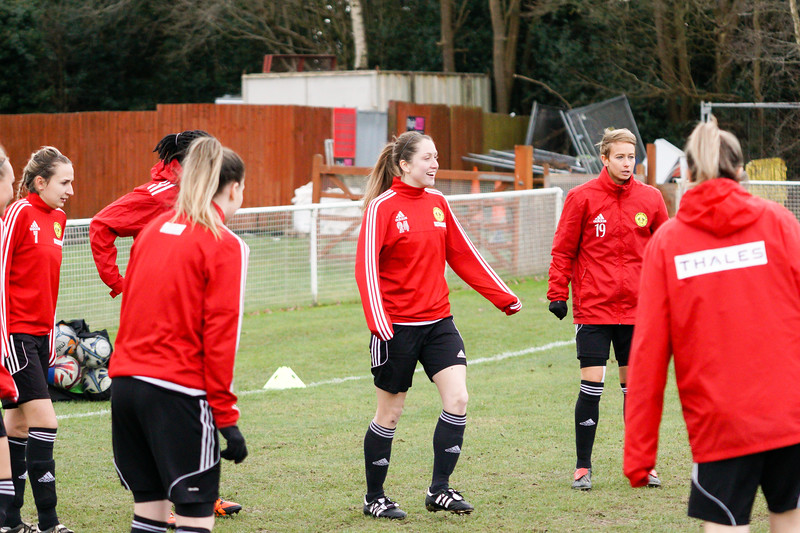 Crawley Wasps Ladies (4) vs Leyton Orient WFC (1) on January 27, 2019 at Oakwood Football Club, Tinsley Lane, Crawley RH10 8AT, Crawley. Photo: Ben Davidson, www.bendavidsonphotography.com - 1901270002