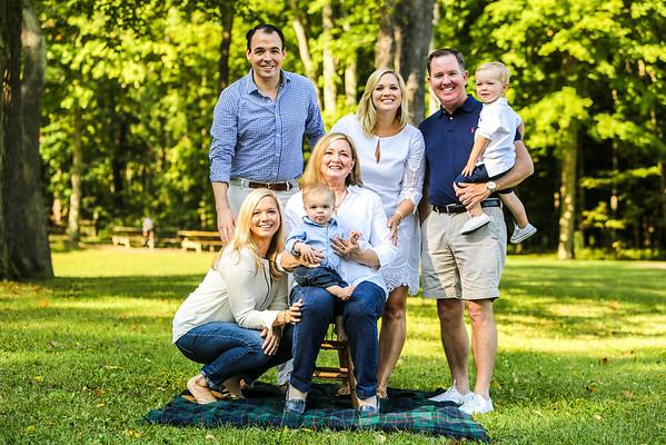 Brecksville Summer Family Portrait Session