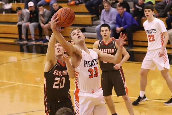 20V Boys Basketball:  Eastern at Wheelersburg 2020