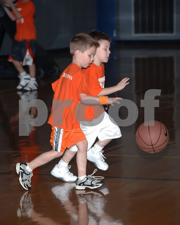 Marshall County 3 On 3 Basketball, Griggs 4 And 5 Year Olds vs. May, January 3, 2009.