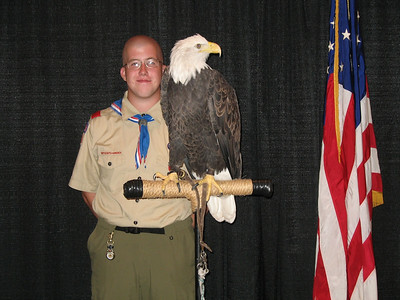 Eagle Scout Recognition Banquet Live Eagle Photos-July 24, 2007