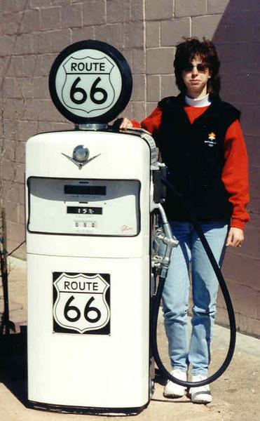 Dulcie route 66 gas pump.jpg