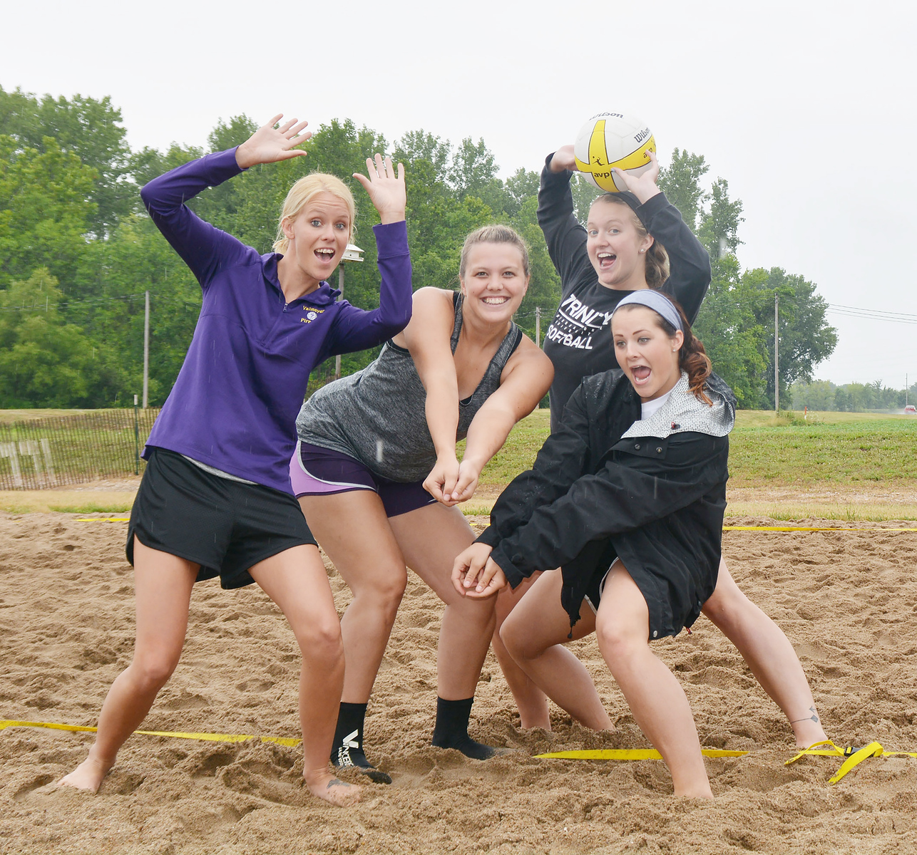 Valmeyer's Brent Roever  Sand Volleyball Tournament