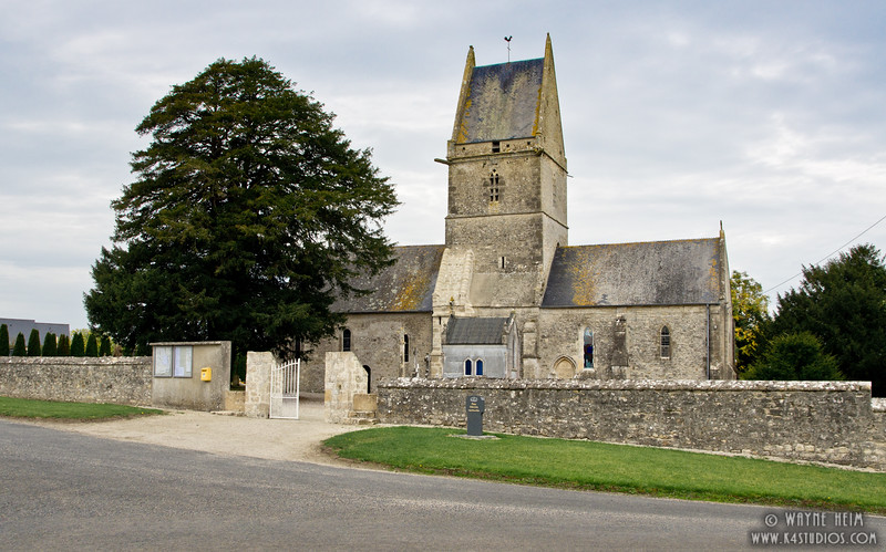Church in Normandy  Photography by Wayne Heim