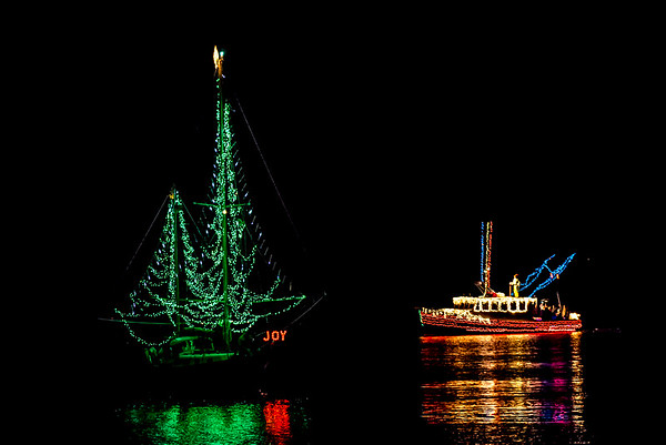 Trees in the Rigging Boat Parade