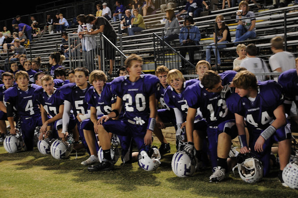 NCS Football Game vs Valley Christian - 10/24/08 - Senior Night