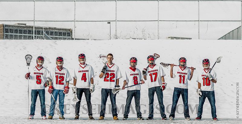2013-14 Chaparral Lacrosse Seniors