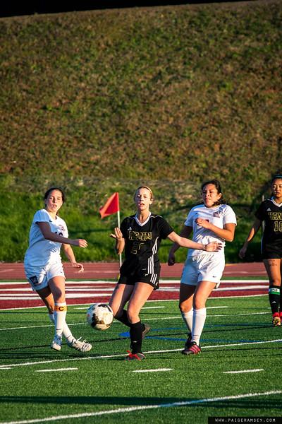 2018 Westside vs TL Hannah Soccer