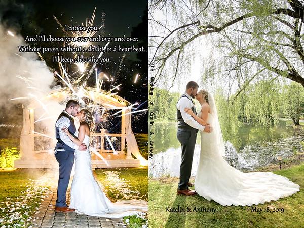 Katelin & Anthony 8x12 Wedding Album
