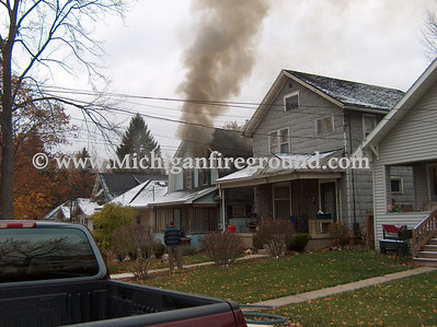 11/10/08 - Lansing house fire, 313 S. Magnolia