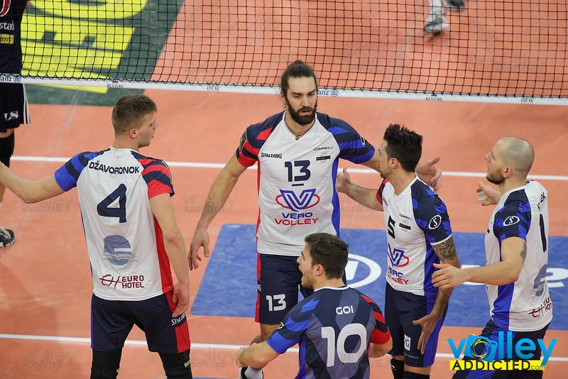 SuperLega Credem Banca 2019/20 - 1^ Giornata di Ritorno Allianz Milano 3 - Vero Volley Monza 0 Milano - 26 dicembre 2019