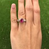 3.21ctw Burma N-Heat Ruby Ring, by Mellerio 17