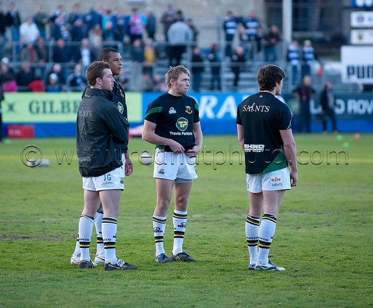 Bath vs Northampton Saints, Guinness Premiership, Recreation Ground, 20 April 2010